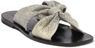 Joie Bentia Lizard Embossed Slide Sandal