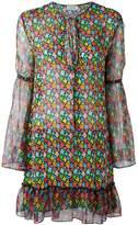 Au Jour Le Jour floral print chiffon dress