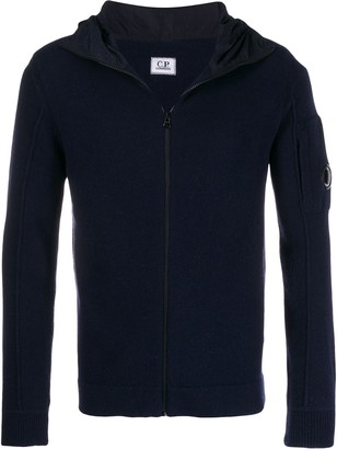C.P. Company lens-detail zip-up hoodie