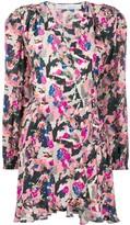 IRO Bloomy LS print dress