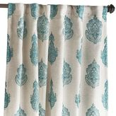 "Pier 1 Imports Rambagh Paisley Teal 96"" Curtain"