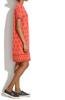 Madewell Silk Tunic Dress in Teardrop Paisley