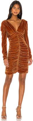 Nicholas Gathered Party Dress