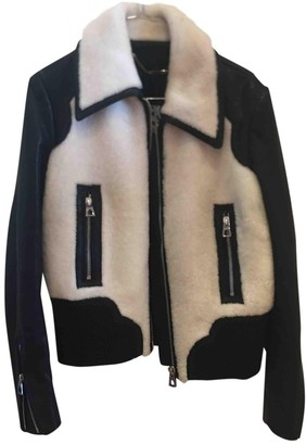 Barbara Bui Shearling Leather Jacket for Women