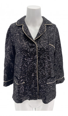 In The Mood For Love Black Glitter Jackets