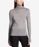 DKNY Merino Wool Turtleneck Sweater