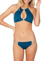 Koa Swim Wanderlust Reversible High Neck Bikini Top Fiji/bare