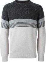 Brunello Cucinelli striped jumper - men - Polyamide/Cashmere/Virgin Wool - 50