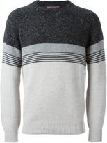 Brunello Cucinelli striped jumper - men - Polyamide/Cashmere/Virgin Wool - 54