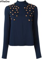 MSGM bead embellished top