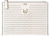 Karen Millen Oval Perforated Clutch