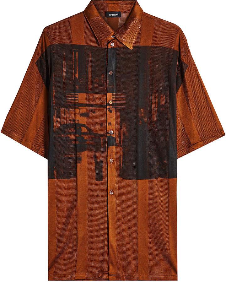 Raf Simons Printed Net Shirt
