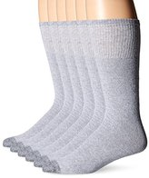 Fruit of the Loom Men's 6 Pack Over the Calf Tube Socks