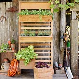 Williams-Sonoma Williams Sonoma Vertical GRO System with Casters & Drip System