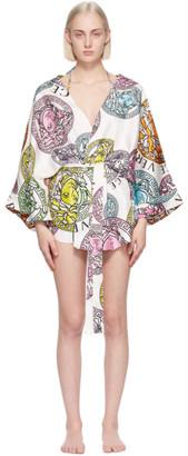 Versace Underwear White Medusa Amplified Print Robe