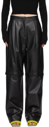 Sportmax Black 2-in-1 Blado Trousers