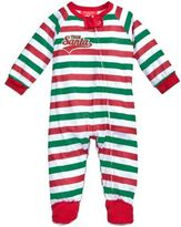 Family Pajamas 1-Pc Team Santa Footed Pajamas, Baby Boys' or Baby Girls' (12-24 months) & Toddler Boys' or Toddler Girls' (2T-3T) Created for Macy's