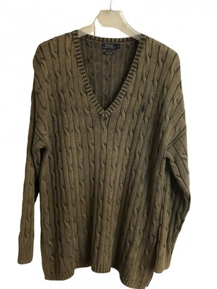 Polo Ralph Lauren Khaki Cotton Knitwear for Women