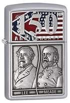 Zippo Limited Edition Gettysburg 150th Anniversary Emblem Satin Chrome Lighter