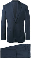 Hardy Amies micro checked two piece suit