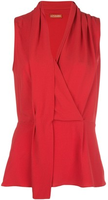 Altuzarra Koral sleeveless draped top