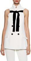 Proenza Schouler Double Breasted Mid Length Vest