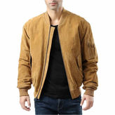 Asstd National Brand Ma-1 Suede Bomber Jacket