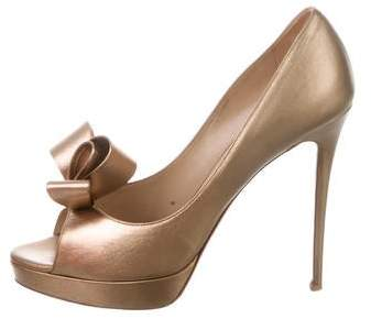 009bdf3ed3e Valentino Bow Pumps - ShopStyle