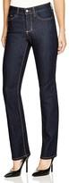NYDJ Hayley Straight Leg Jeans in Dark Enzyme