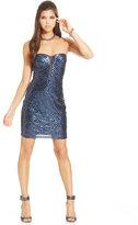 Trixxi Juniors' Sequin Bodycon Dress