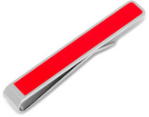 "Cufflinks Inc. Be Merry"" Etched Red Tie Bar"