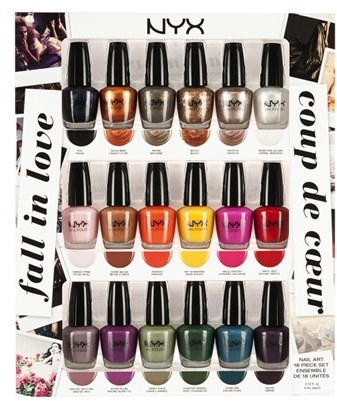 NYX 'Fall in Love' Nail Art Collection
