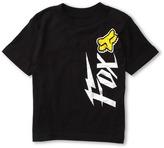 Fox Lynx S/S Tee (Little Kids) (Black) - Apparel