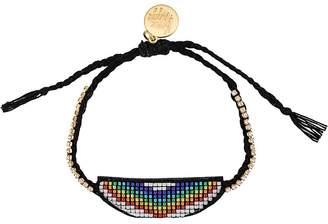 Venessa Arizaga Rainbow beaded bracelet