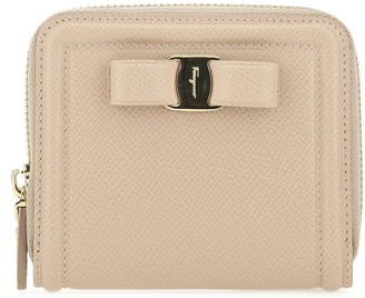 Salvatore Ferragamo Vara Bow Zipped Wallet