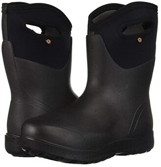 Bogs Neo-Classic Mid (Black) Women's Rain Boots