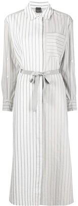 Lorena Antoniazzi Stripe-Print Shirt Dress