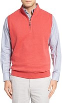 Peter Millar Zip Front Fleece Vest