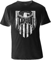 Tapout Capitalized Adult T-shirt (, Black/White)