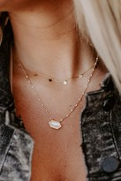 Mother of Pearl Modern Opus Hex Necklace