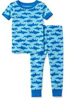 Old Navy 2-Piece Shark-Patterned Sleep Set for Toddler & Baby