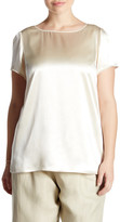 Lafayette 148 New York Rosie Silk Blouse (Plus Size)