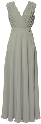 Diana Arno Chloe Draped Maxi Dress