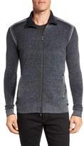 John Varvatos Men's John Varvartos Merino Wool Blend Funnel Neck Zip Sweater
