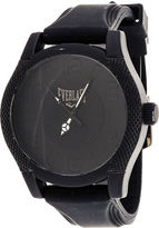 Everlast Mens Black Silicone Strap Sport Watch