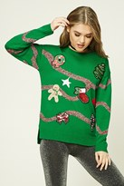 Forever 21 FOREVER 21+ Patched Holiday Sweater