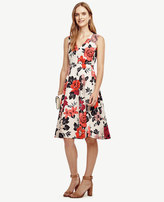 Ann Taylor Sundrenched Floral Flare Dress