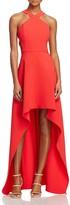 BCBGMAXAZRIA Cutout High/Low Gown - 100% Exclusive