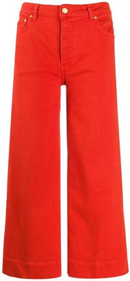 Victoria Victoria Beckham High Rise Flared Jeans