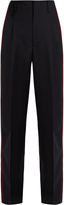 Golden Goose Deluxe Brand Erin side-striped wool trousers